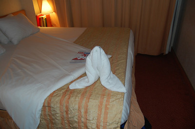 Towel Animals on Carnival Conquest