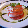 Tomato and Mozerrella Cheese Plate